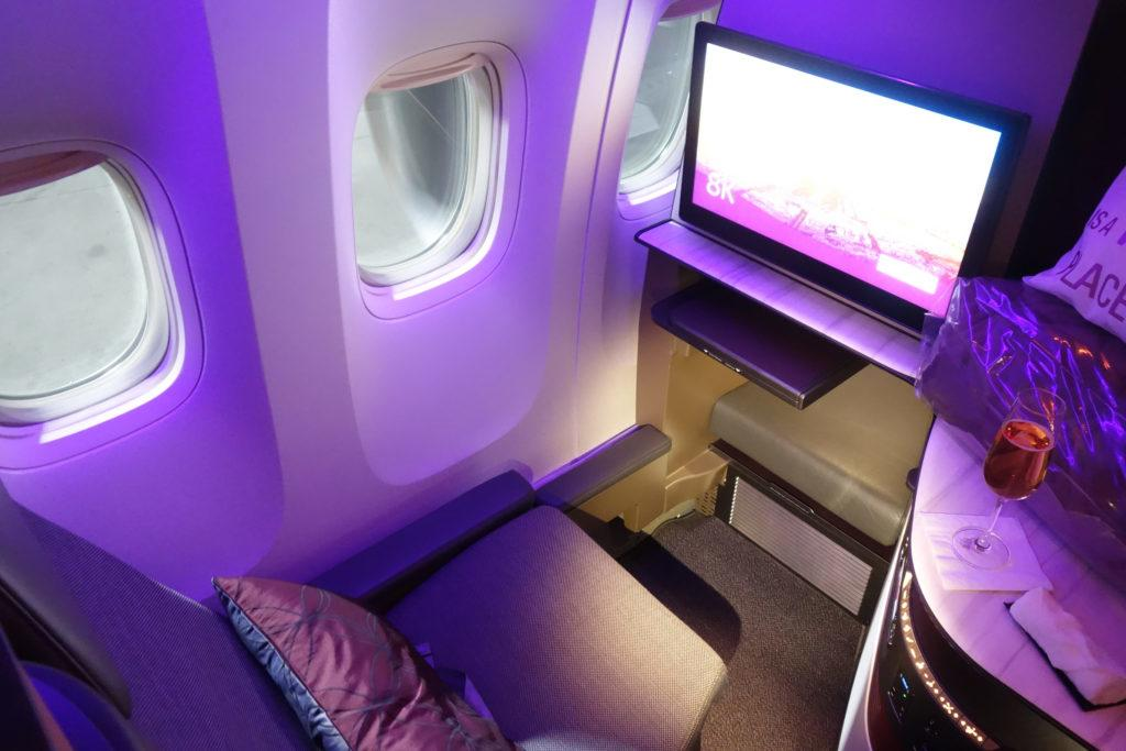 Qatar Airways представила Qsuite 2.0 на Boeing 787-9