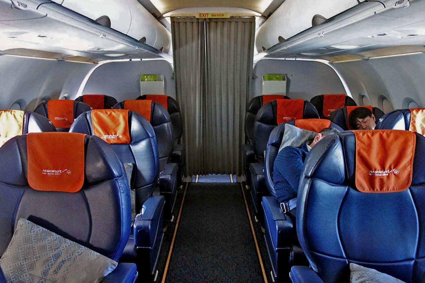 Аэрофлот сокращает частоту внутренних рейсов