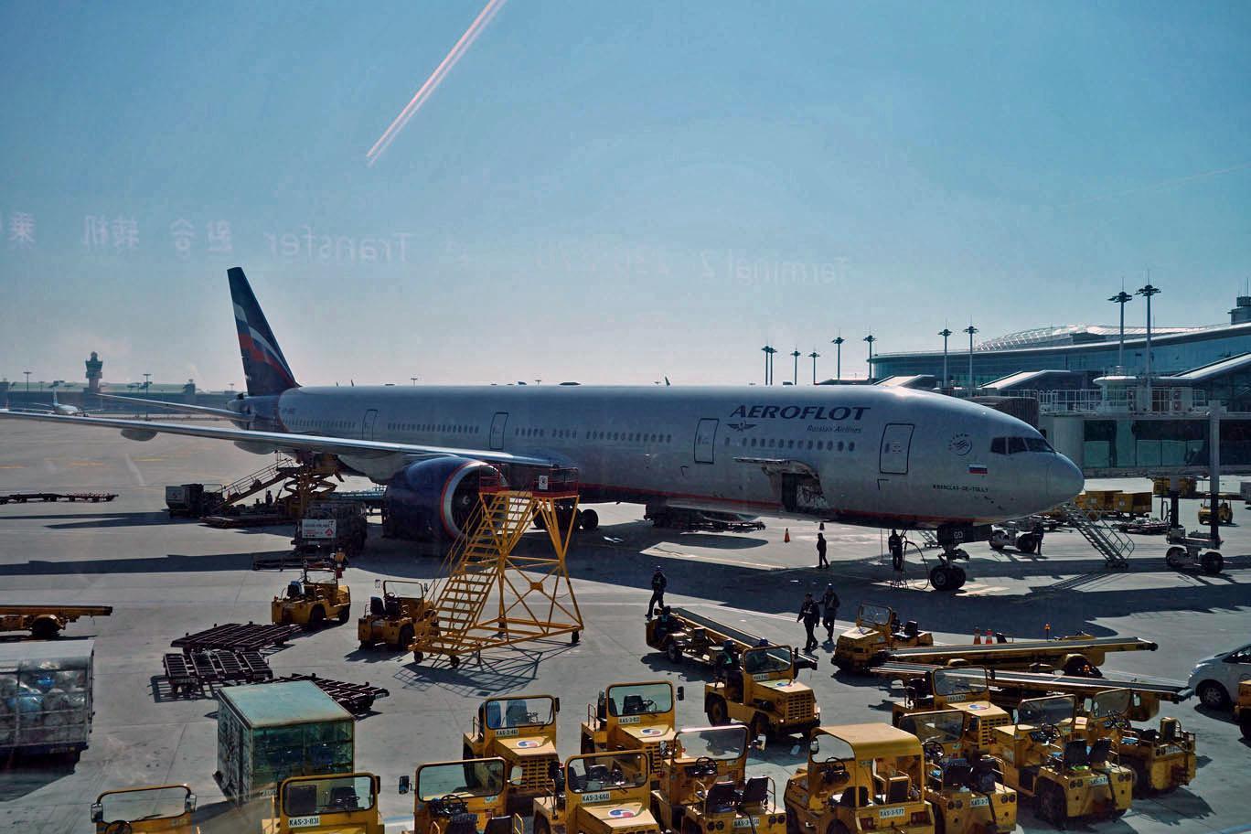 Странный вывозной рейс Аэрофлота из Лондона