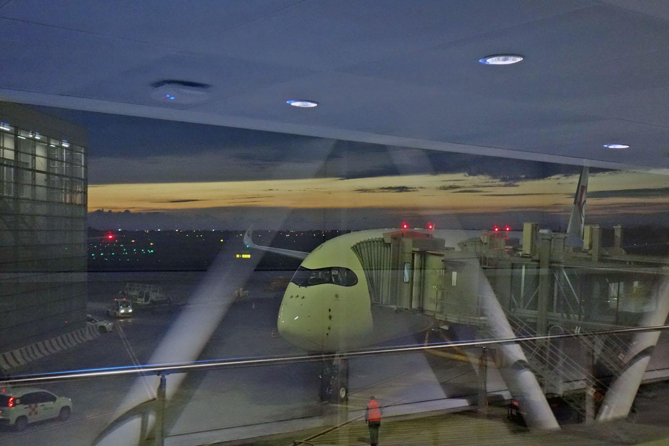 Обзор: China Eastern, бизнес-класс (А350), Рим — Шанхай