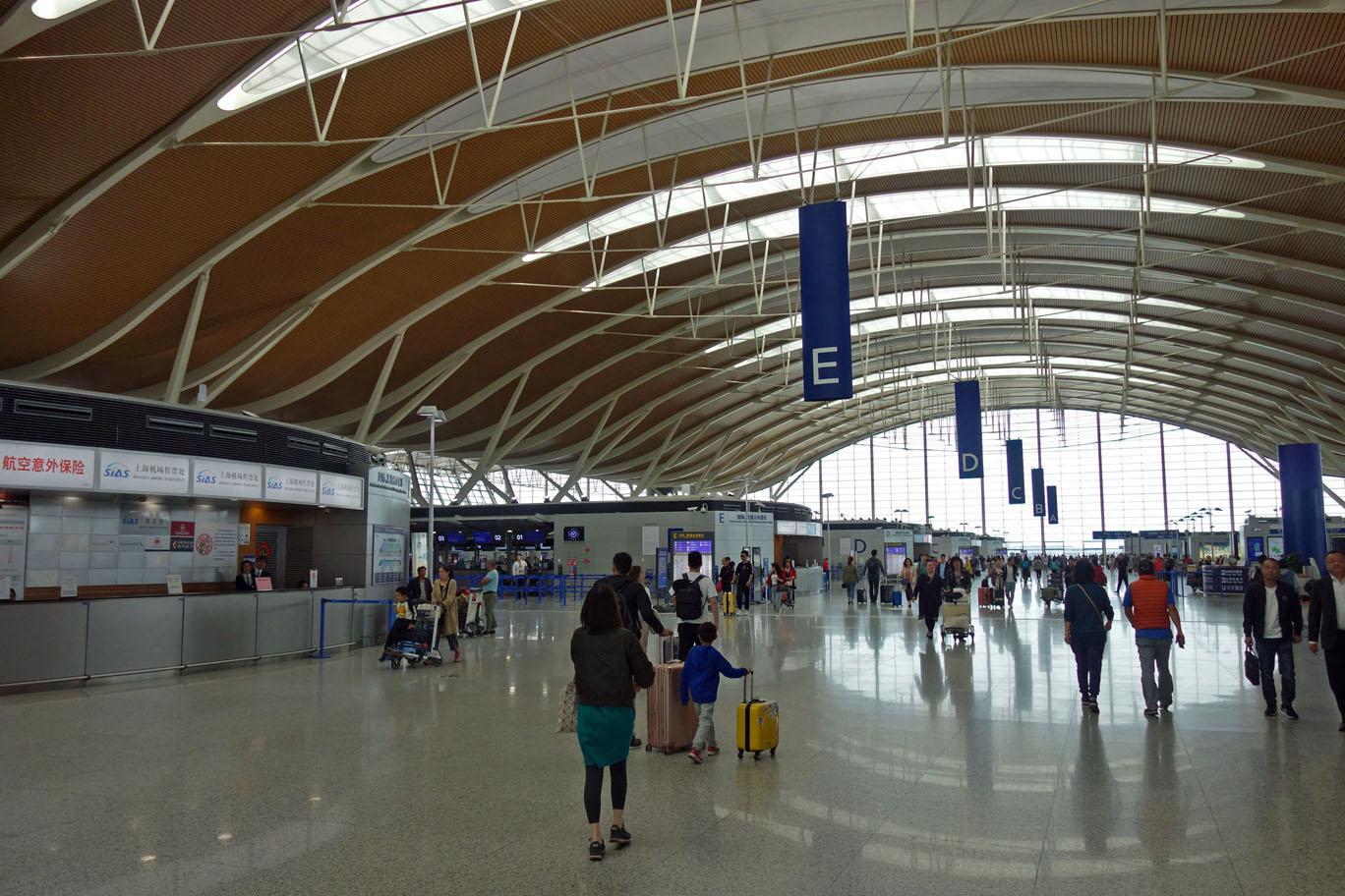 Обзор: Air China First Class Lounge, Шанхай