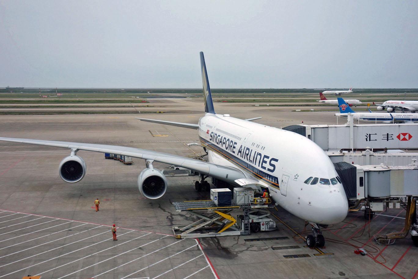 Singapore Airlines отправляет новые А380 на долгосрочное хранение
