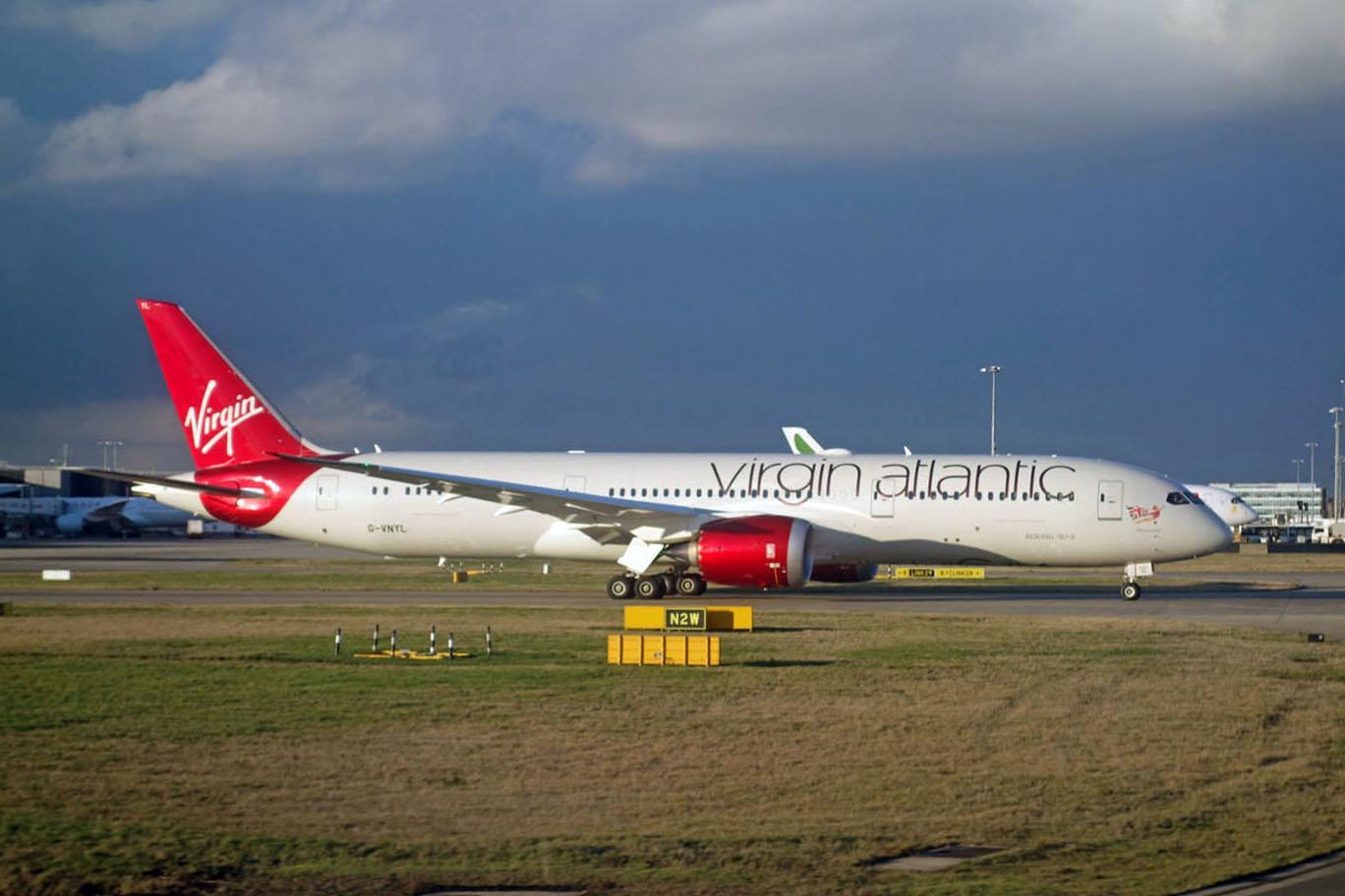 1 000 бесплатных миль Virgin Atlantic