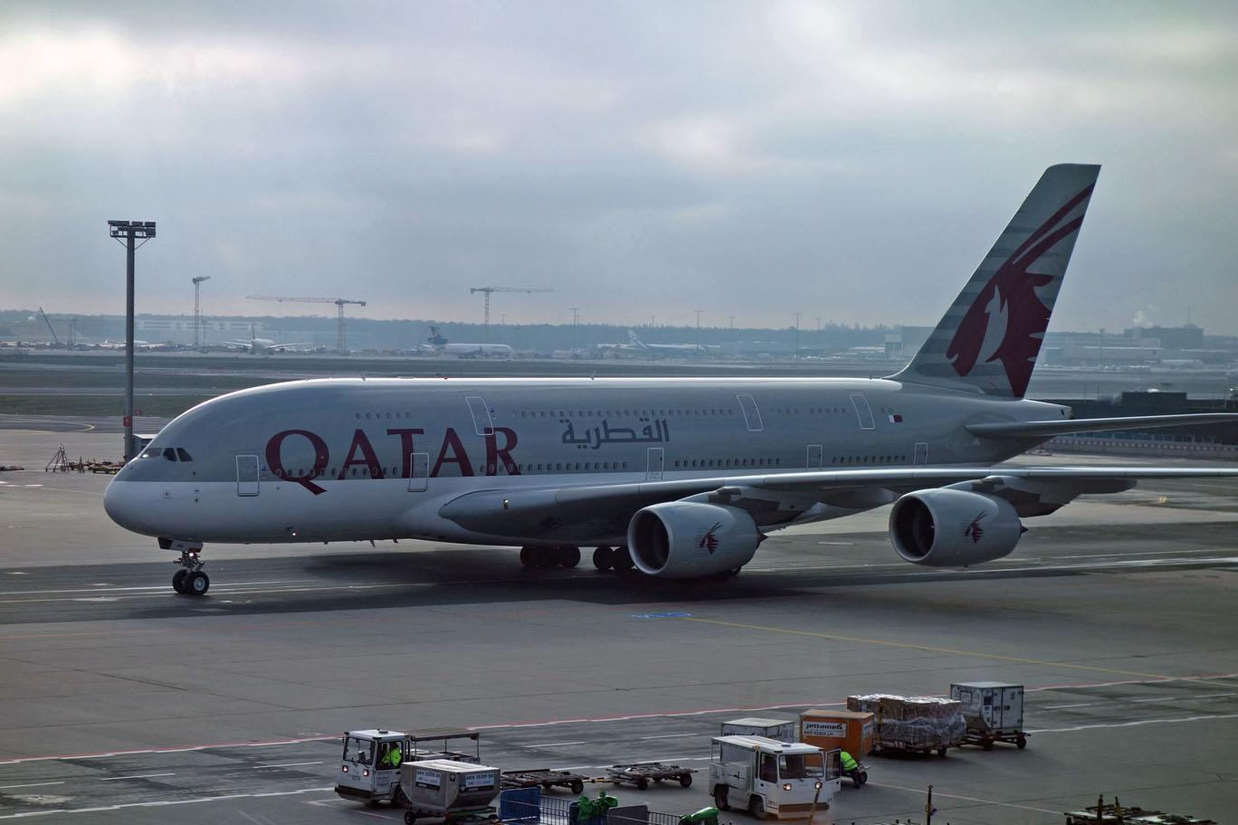 Статус-матч Qatar Airways
