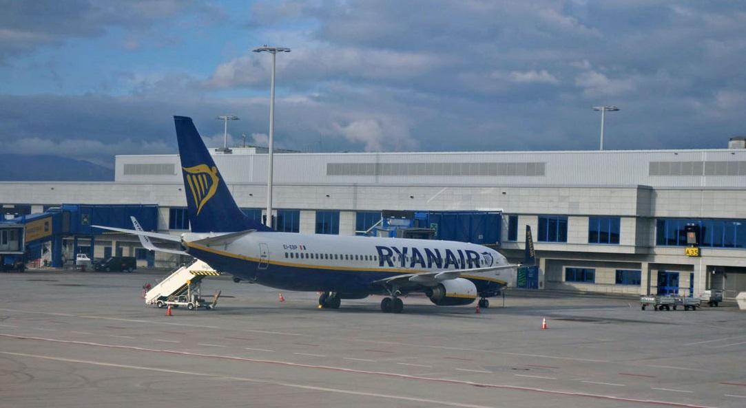 Маски будут обязательными на рейсах Ryanair