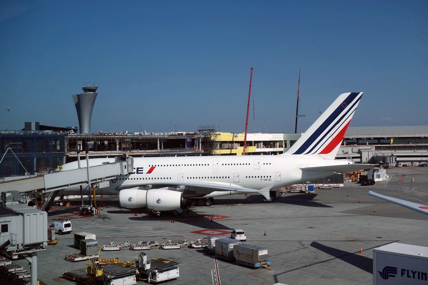 Air France выводит из строя Airbus A380