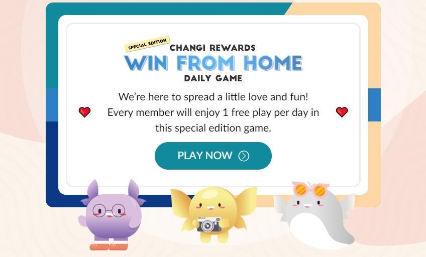 Ежедневные бесплатные призы от Changi Rewards
