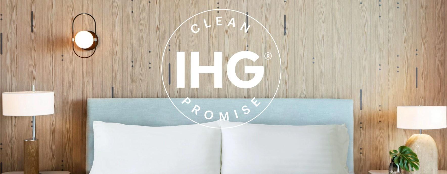 Гарантия чистоты в отелях IHG