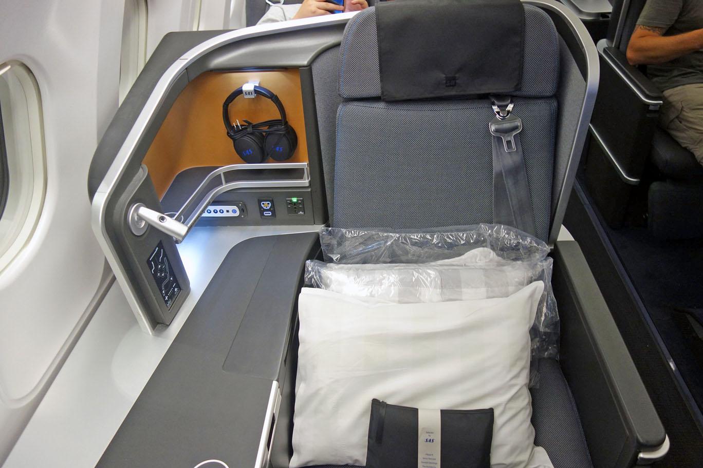 Обзор: SAS, бизнес-класс (A340), Гонконг – Копенгаген