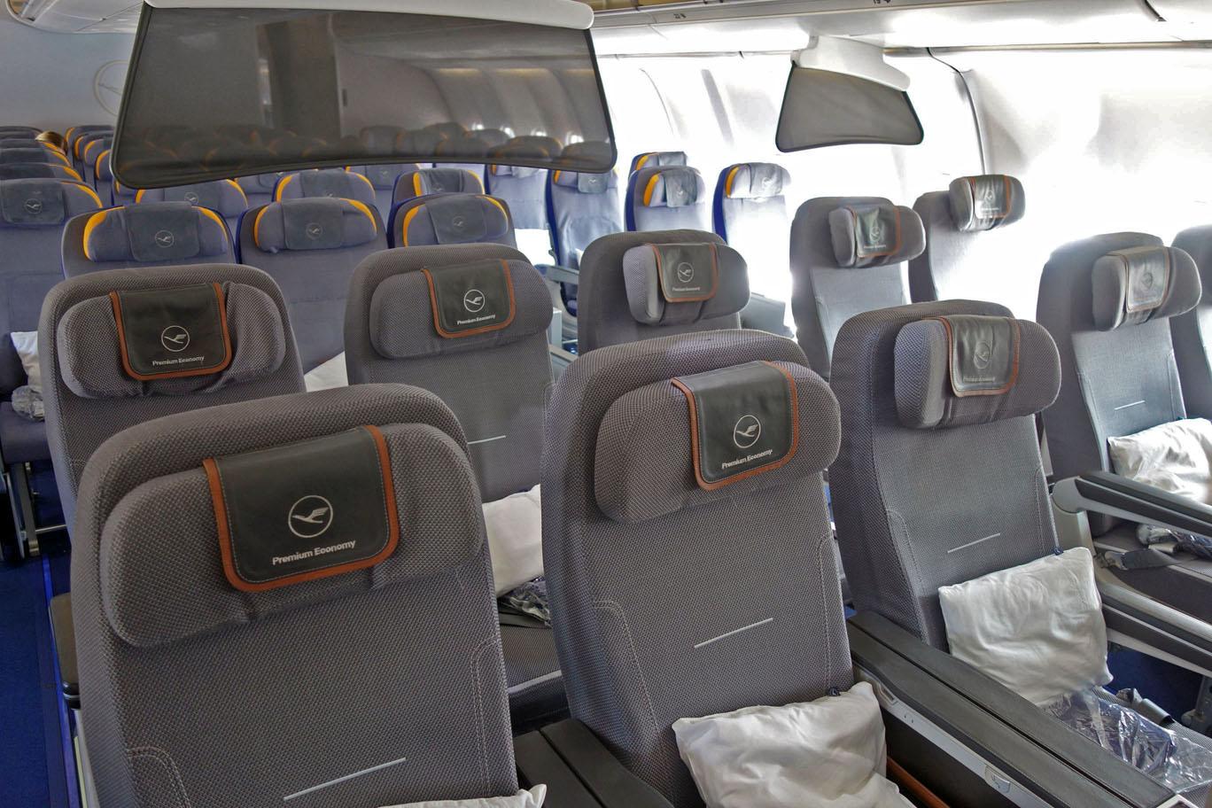 Обзор: Lufthansa, премиум-эконом (А330), Франкфурт – Дубай