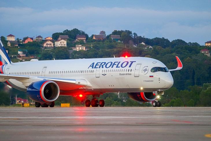 Аэрофлот будет летать на А350 в Сочи