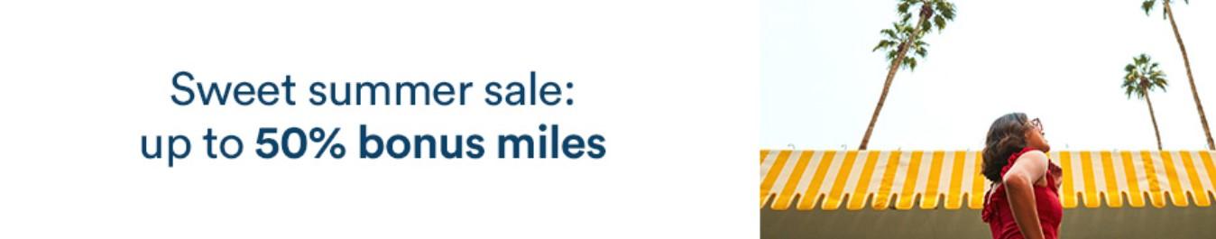 Распродажа миль Alaska с бонусом до 60%