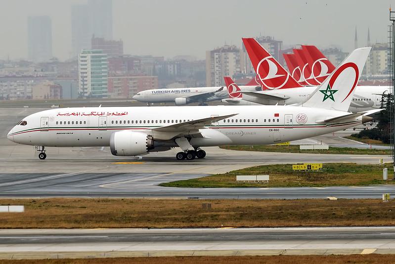 Royal Air Maroc продаст 20 самолётов (включая 787)