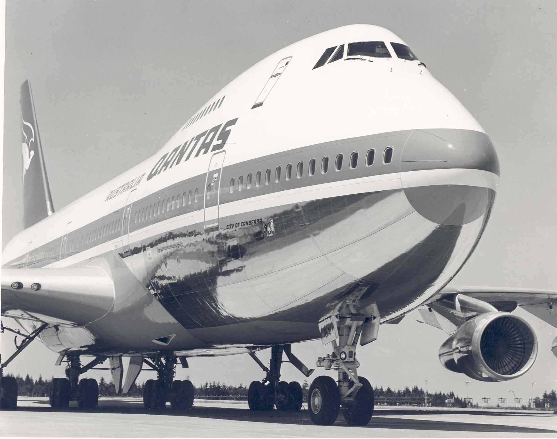 Прощальные рейсы Boeing 747 у Qantas