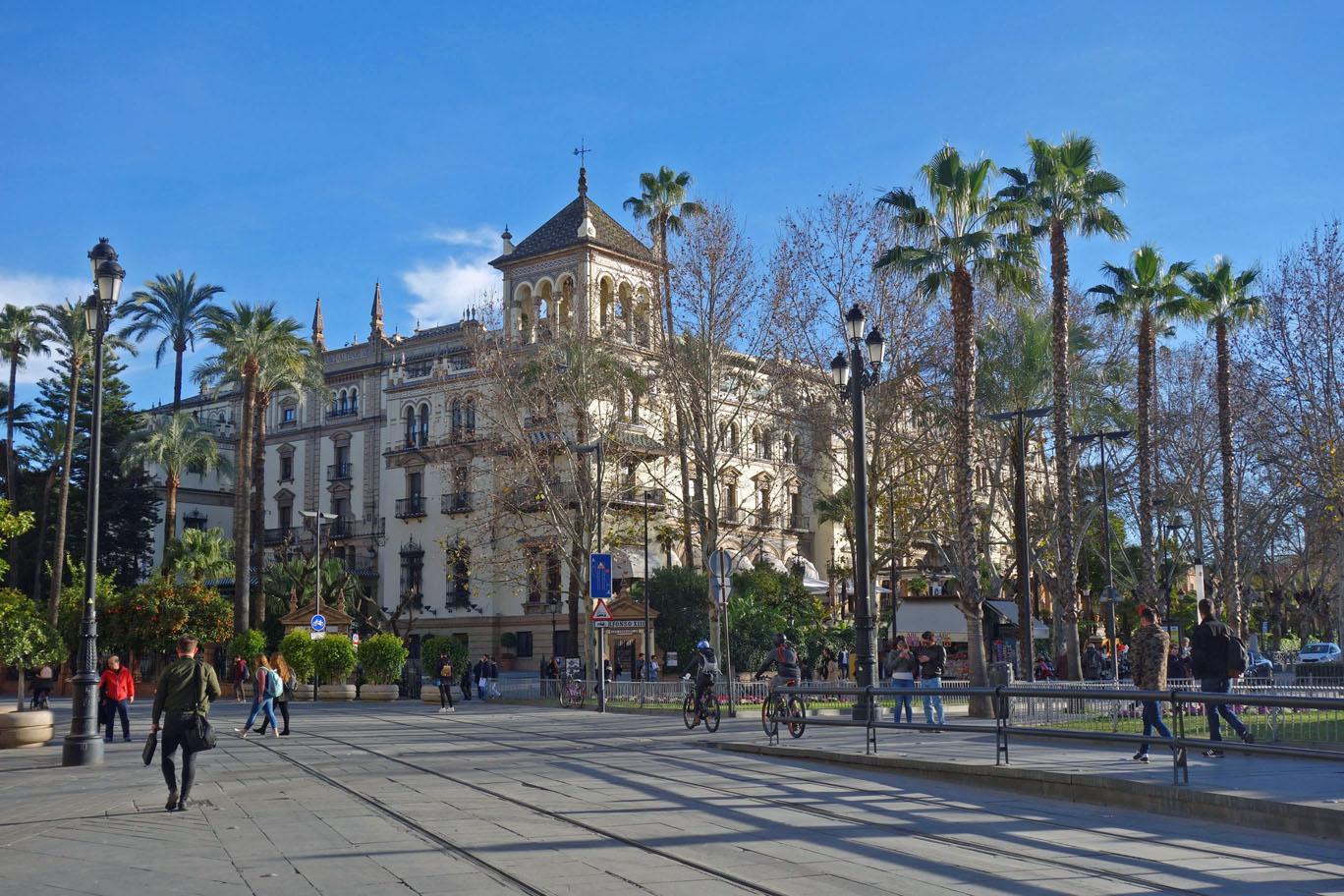 Обзор: Alfonso XIII, Luxury Collection, Севилья