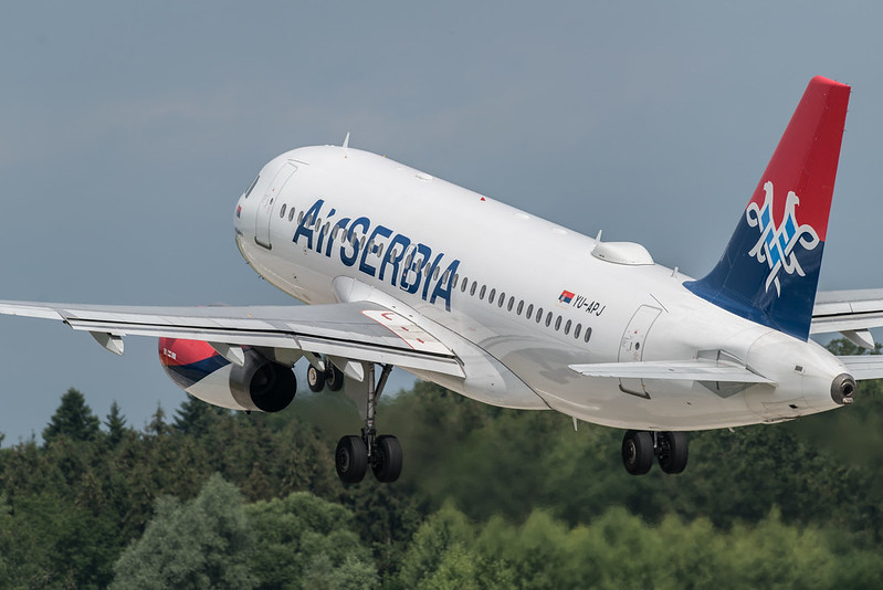 Новое партнёрство Air Canada и Air Serbia