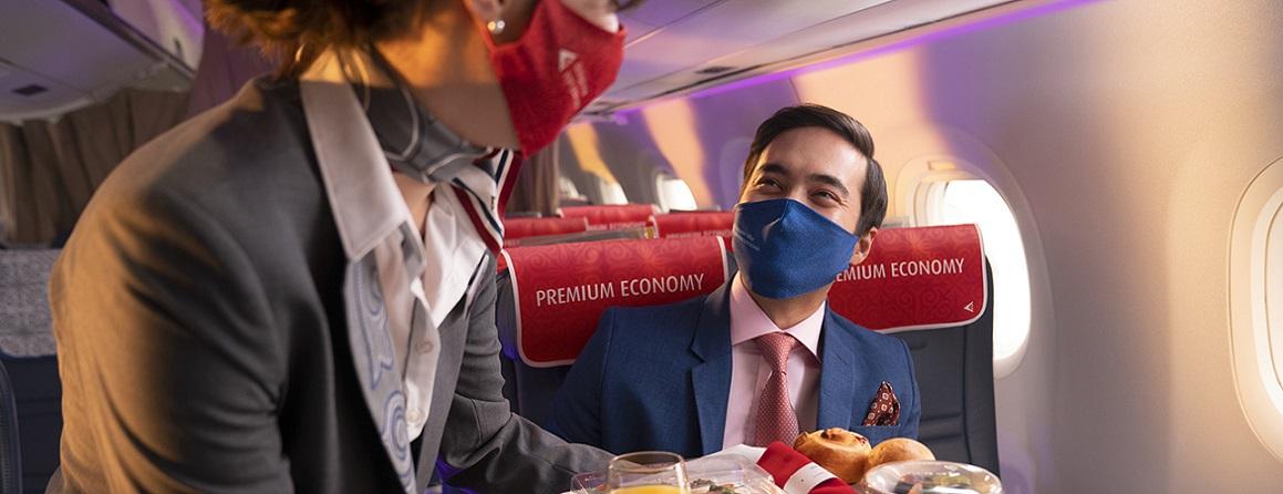 Пф: новый премиум-эконом Air Astana