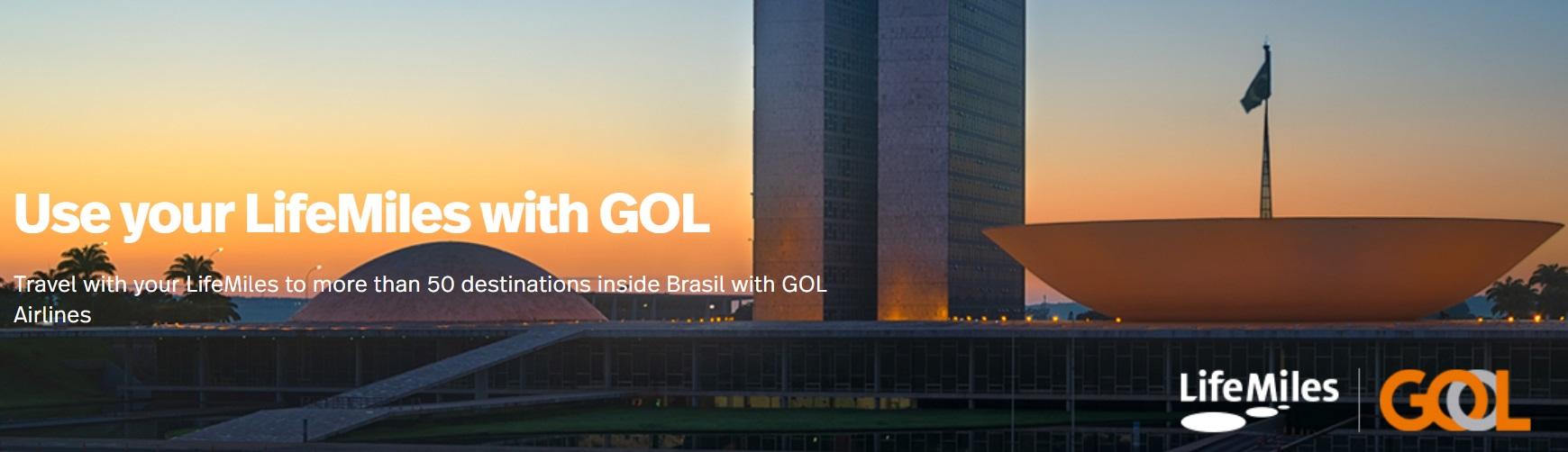 Новый партнер LifeMiles: GOL
