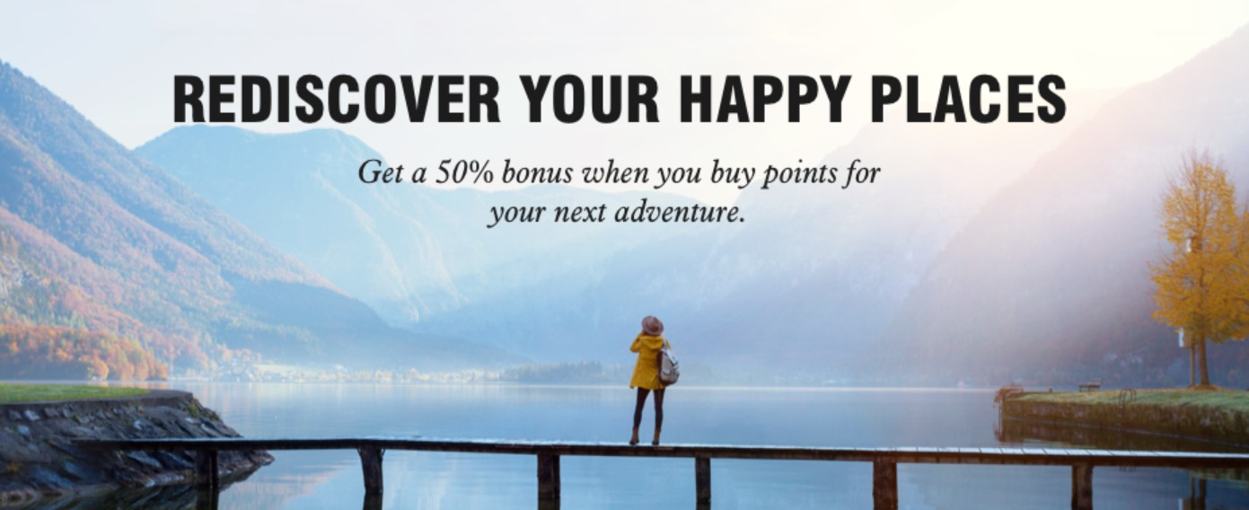 Распродажа баллов Marriott с бонусом 50%