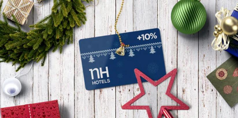 Подарочные карты NH Hotels с бонусом 10%