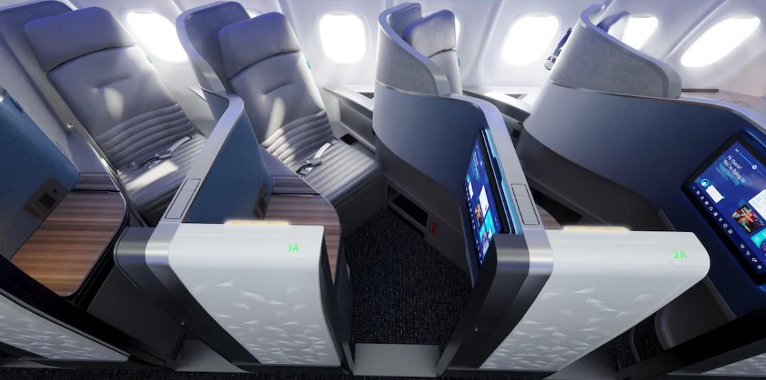 Новый бизнес-класс JetBlue