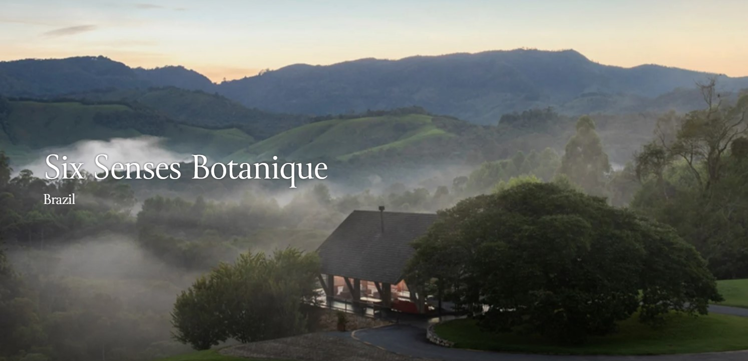 В Бразилии открылся любопытный резорт Six Senses Botanique