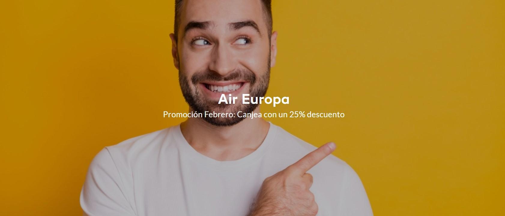 Премиальные билеты Air Europa со скидкой