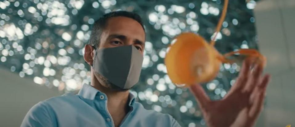 Новое вайрусное видео безопасности Etihad