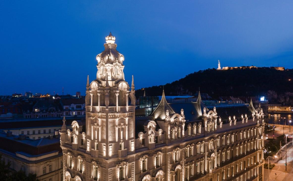 Новый отель Luxury Collection в Будапеште: Matild Palace