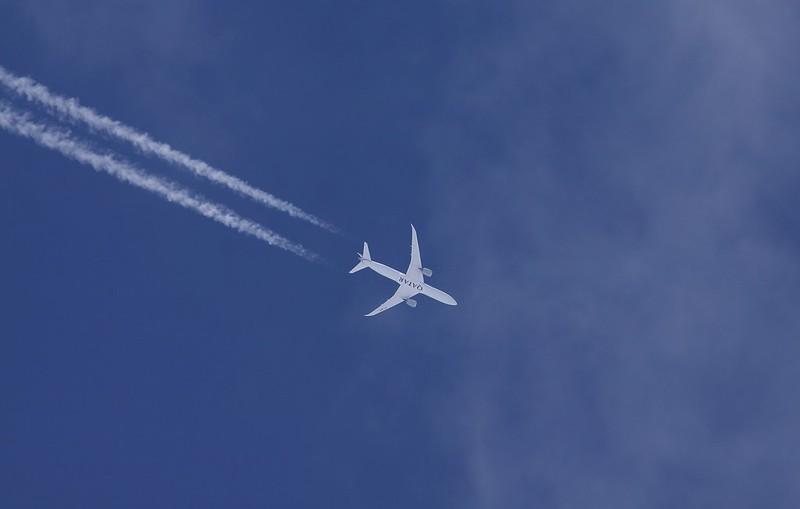 Бизнес-класс Qatar Airways на Boeing 787-9
