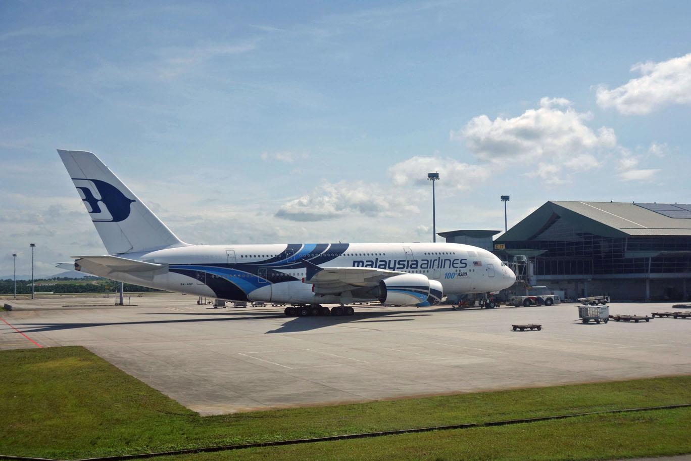 Malaysia Airlines прощается с Airbus A380