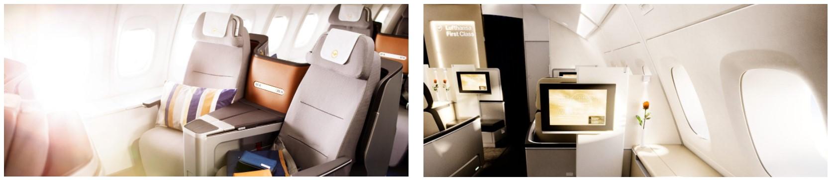 Отличные цены в бизнес- и первом классе Lufthansa/SWISS