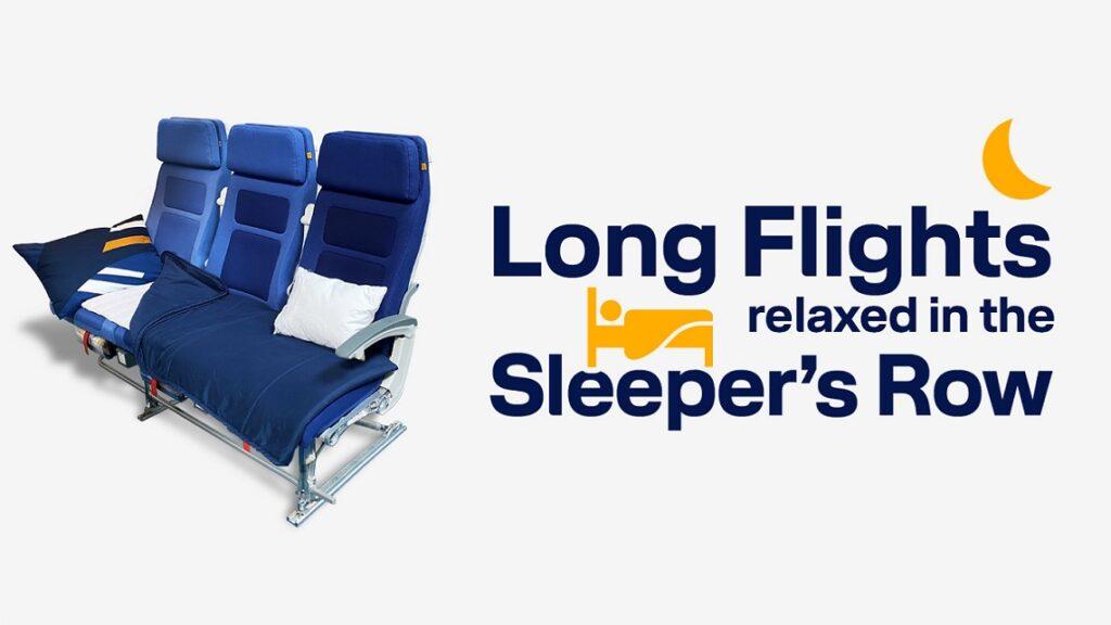 Спальный эконом Lufthansa
