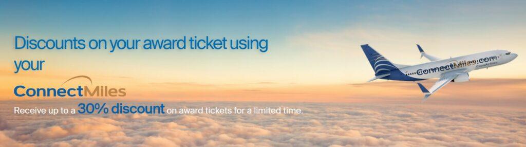 Скидка 30% на премиальные билеты Copa Airlines